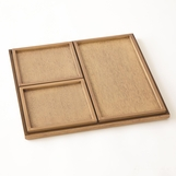 Miriam Walnut Nesting Trays Set