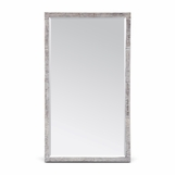 Monarch Rectangular Wall Mirrors | Silver