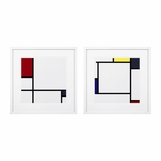 Mondrian Prints | Set of 2