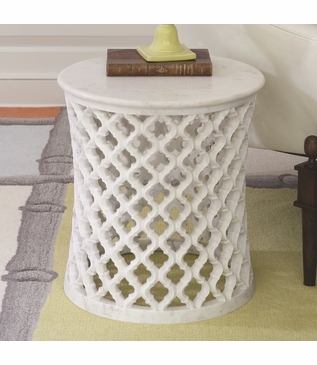 Moorish Marble Side Table