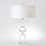 Morel Crystal Lamp
