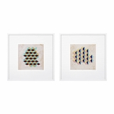 Mozi Geometric Prints | Set of 2