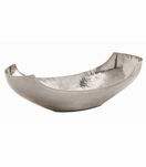Musa Hammered Bowls | Nickel