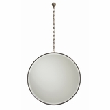 Myles Hanging Mirror | Antique Brass