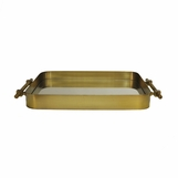 Napoli Brass Tray | Wide