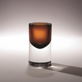 Navoni Glass Vase | Brown