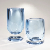 Navoni Glass Vases | Blue
