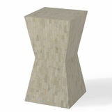 Naxos Bone Side Table | Ivory