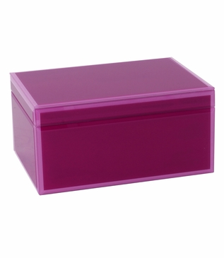 Nemo Large Glass Box | Pink