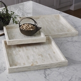 Neville Bone Trays | Natural