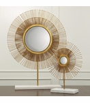 Nimbus Starburst Table Mirrors | Gold