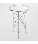 Normandie Round Table | Nickel & Mirror