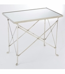 Normandie Table | Nickel & Mirror