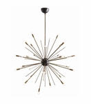 Nova Large Chandelier | Brass