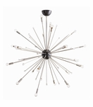 Nova Large Chandelier | Nickel