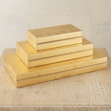 Novi Lacquered Boxes | Gold Leaf