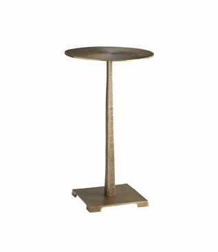 Odessa Accent Table | Brass