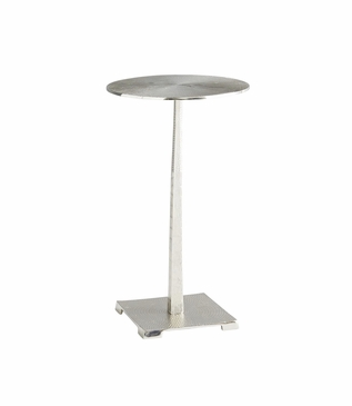 Odessa Accent Table | Nickel