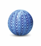 Omni Glass Paperweight | Blue