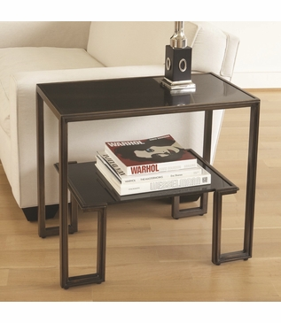 Upton Side Table | Bronze