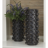 Orbina Ceramic Vases | Dark Grey