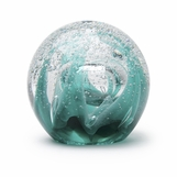Orbus Glass Paperweight | Arctic Cavern
