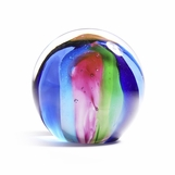 Orbus Glass Paperweight | Springtime