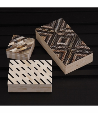 Osso Horn & Bone Boxes Set