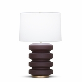 Ovid Table Lamp | Burgundy