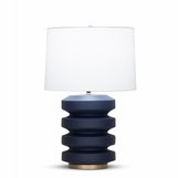 Ovid Table Lamp | Dark Blue