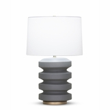 Ovid Table Lamp | Grey