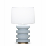 Ovid Table Lamp | Light Blue