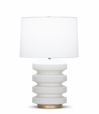 Ovid Table Lamp | White