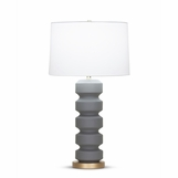 Ovid Tall Table Lamp | Grey