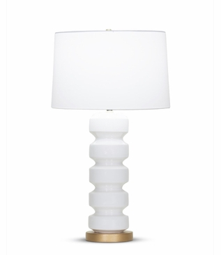 Ovid Tall Table Lamp   White