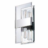 Paige Double Sconce | Chrome