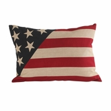 Patriotic Linen Pillow | America
