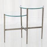 Pauline Tiered Side Table | Iron