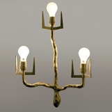 Pavel Brass 3-Light Sconce