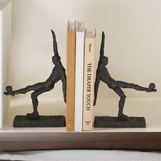Pele Iron Bookends