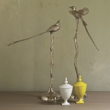 Perch Bird Sculptures