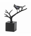 Perched Cardinal Sculpture