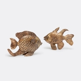 Pescado Fish Sculptures Set
