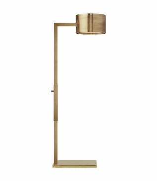 Pharmacy Floor Lamp | Brass