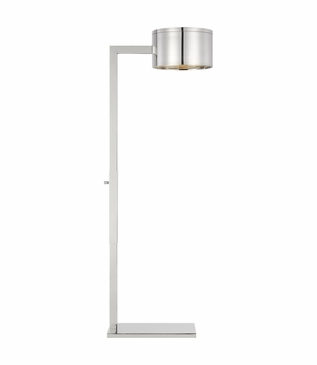 Pharmacy Floor Lamp | Nickel