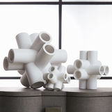 Piper Ceramic Sculptures | Matte White