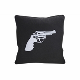 Pistol Wool Pillow