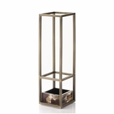 Plano Horn Umbrella Stand | Brass