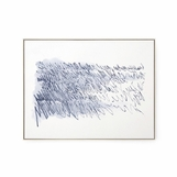 Poetic Musings Watercolor Art | Blue