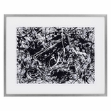 Pollock Abstract Expressionist Print